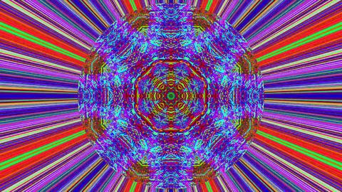 Transforming elegant geometric cyberpunk glittering background Footage