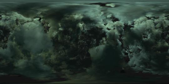 Dark Clouds 360 VR VR 360° Video