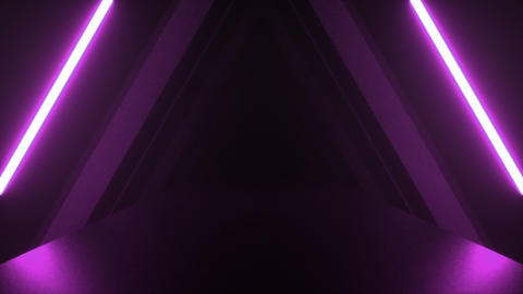 Dark tunnel purple Animation