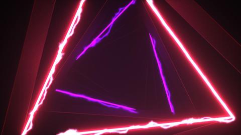 3d dark tunnel rotate Animation