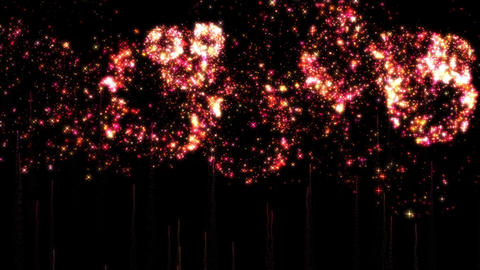 Fireworks bg loop 25 Animation