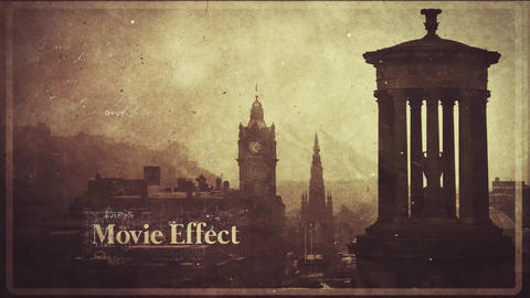 History Opener After Effects Template