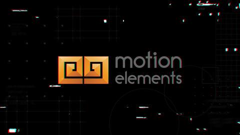 Glitch Logo Opener Premiere Pro Template