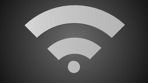 Wi fi icon 01 Animation