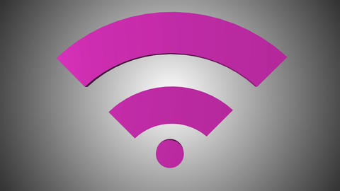 Wi fi icon 03 Animation