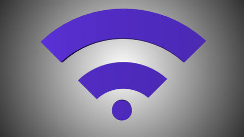 Wi fi icon 05 Animation