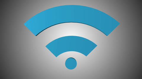 Wi fi icon 07 Animation