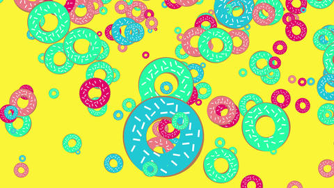 donuts background animation Animation