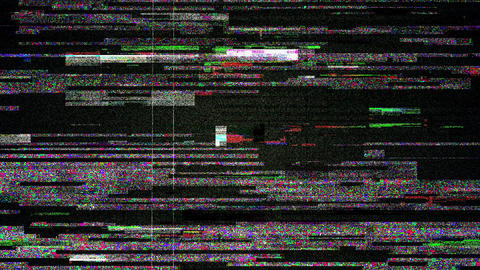 Noise Glitch Video Damage Flickering Backround Animation