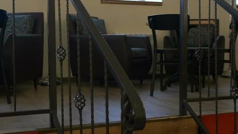 Restaurant Interior Stock Video Footage