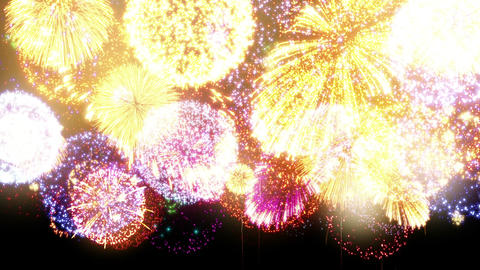 Fireworks Festival 3 En1p 4k Animation