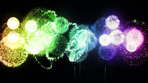 Fireworks Festival 3 Fm1 4k Animation
