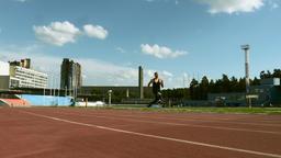 male athlete amputee Footage