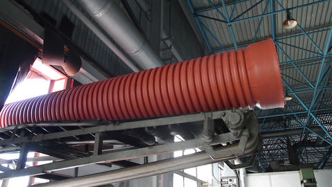 Manufacture of plastic water pipes Live Action