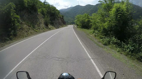 motorcycle road trip, towards adventures, riding point of view, pov, personal Live Action