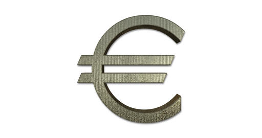 Euro Symbol Rotating GIF