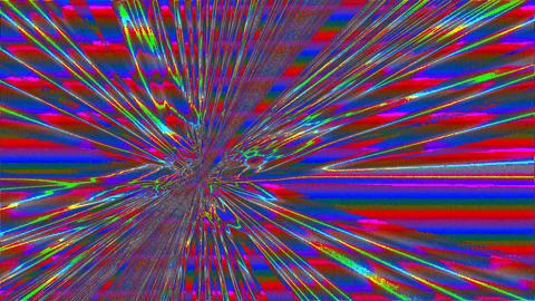 Fascinating bad trip effect or light leak shimmering background Footage