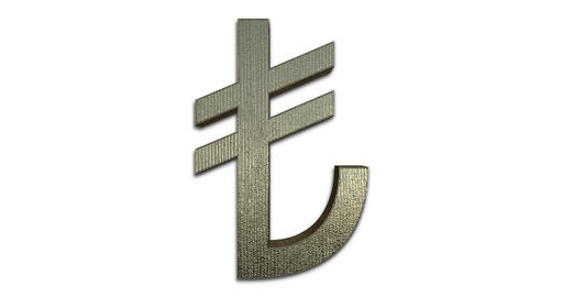Turkish Lira Symbol GIF