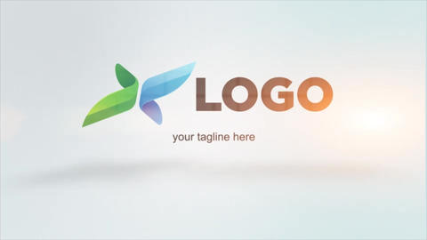 OpenDoor Smooth Logo Intro After Effects Template