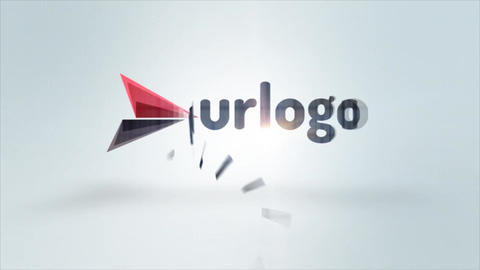 Simple Elegant Logo Animation After Effects Template