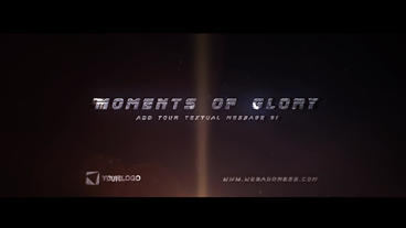 Moments of Glory - Intense Opener After Effects Template