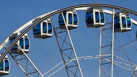 Ferris wheel in Helsinki Footage
