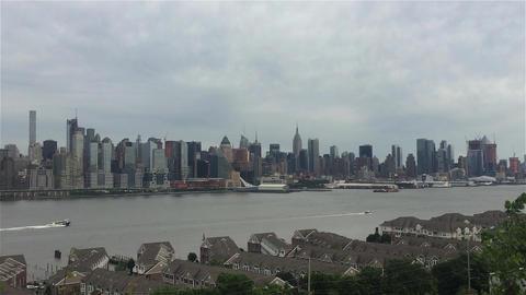 Manhattan View. Manhattan Skyline Live Action