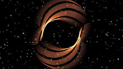 4k GEOMETRIC LINES form a CIRCLE Animation