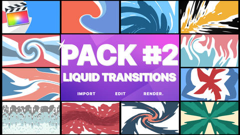 Liquid Transitions Pack 02 Apple Motion Template