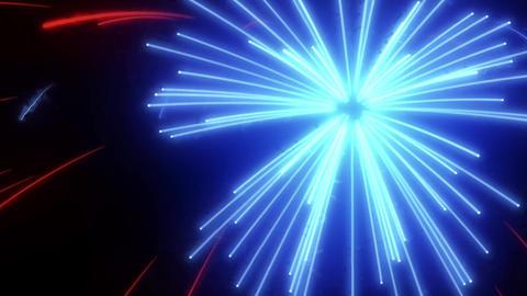 Fireworks explosion flares. Explosion for your Wedding, Valentine's Day, Birthday, Celebration Animation