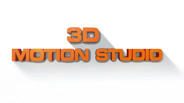 3D Text Title After Effects Templates