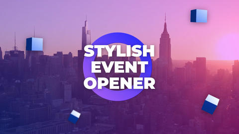Stylish Event Opener After Effects Template