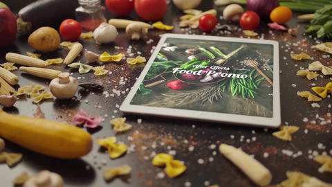 Food Promo After Effects Template