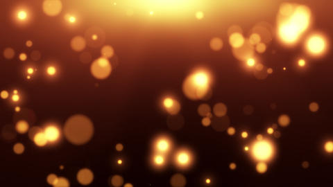 Bokeh Particles Looped Background Animation Animation