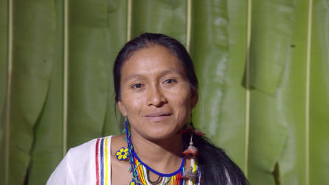 Facial Expression Of A Woman Smiling In Ecuador Live Action