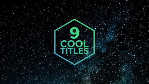 Creative Titles Motion Graphics Template