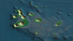 Galapagos - province of Ecuador. Physical Animation