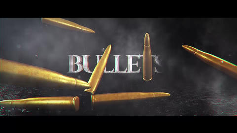 Bullet Title After Effectsテンプレート