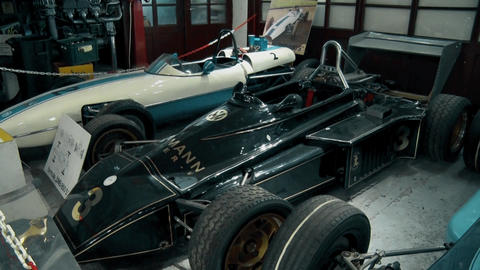 Retro Formula 1 at the Museum GIF