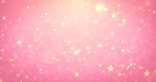 Loop moving beauty star particles Live Action