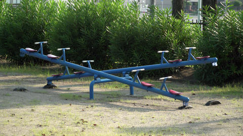 Fun seesaw Live Action