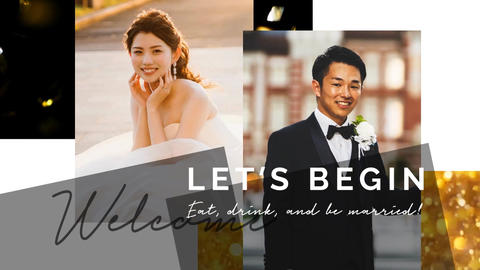 Urban Wedding Opening Movie/Slideshow 2 Color After Effectsテンプレート