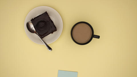 Coffee time - Stop motion Animation