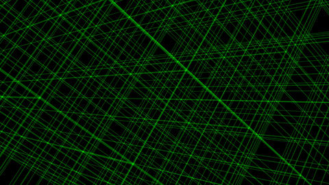 Abstract moving lines on dark background Animation