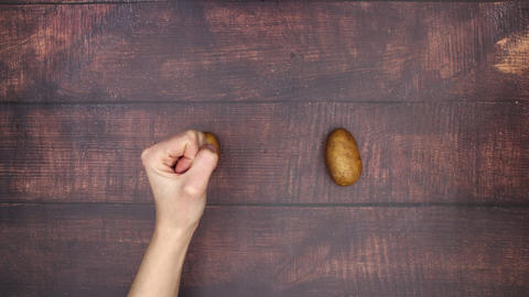 Making potato chips - Stop Motion Animation