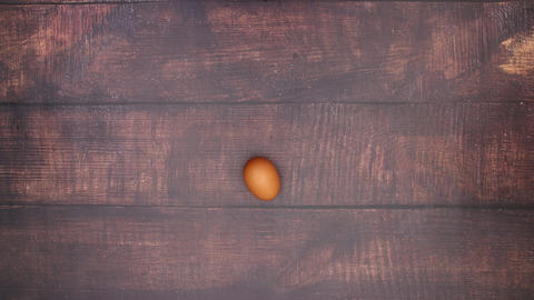 Transform egg into bread - Stop Motion Animation