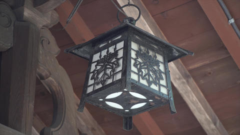 A lantern from kibitsu shrine Live Action