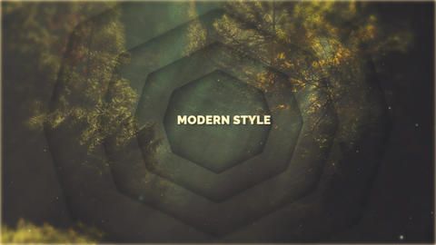 Modern Style Opener After Effects Template