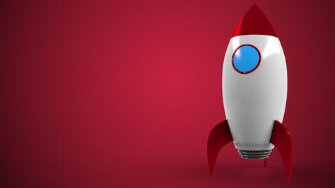 XFINITY logo against a rocket mockup. Editorial conceptual success related Live Action