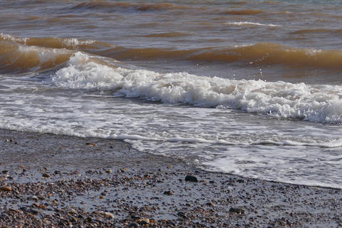 Beach Surf Footage